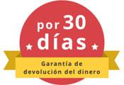 garantía de devolución de dinero de 30 días